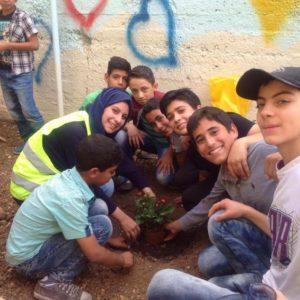 Planting the Bareeq Garden