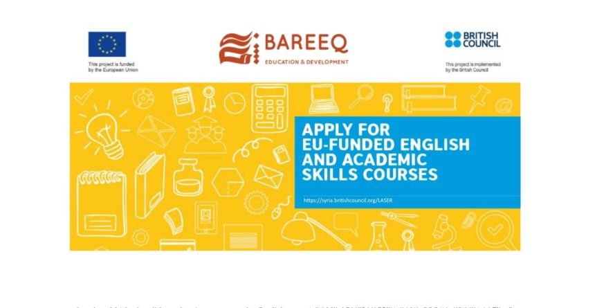 EU and British Council English and Academic Skills Courses