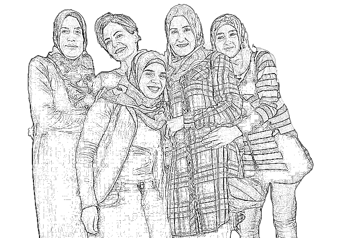 syrian-women-pencil4